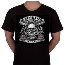 "No 11. Amerika Import Tshirt ""Lucky 7"""