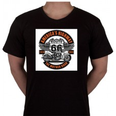 "No 12. Amerika Import Tshirt ""America's Highway"""