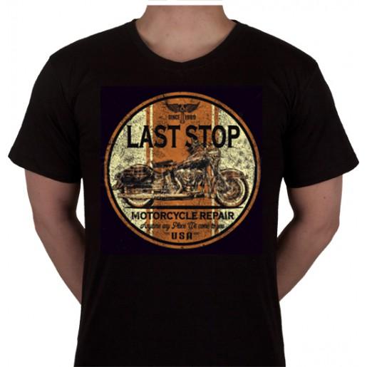 "No 13. Amerika Import Tshirt ""Last Stop"""