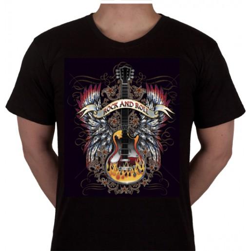 "No 15. Amerika Import Tshirt ""Rock and Roll"""