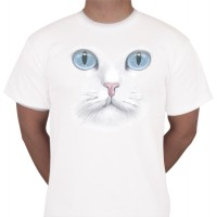 "No 2. Amerika Import Tshirt ""Witte Kat"""