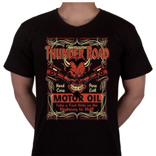 "No 14. Amerika Import Tshirt ""Thunder Road"""