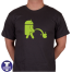 android robot piss off apple
