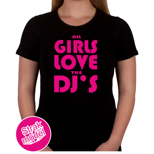 All the girls love the dj