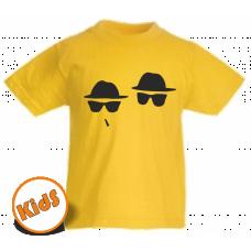 Kinder Tshirt Blues Brothers